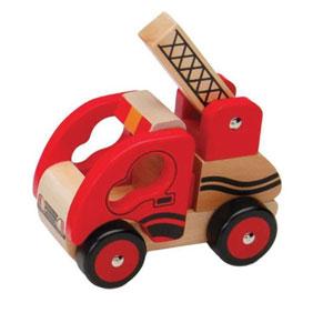 Wooden-Fire-Truck