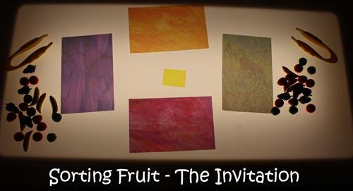 Sorting Fruit