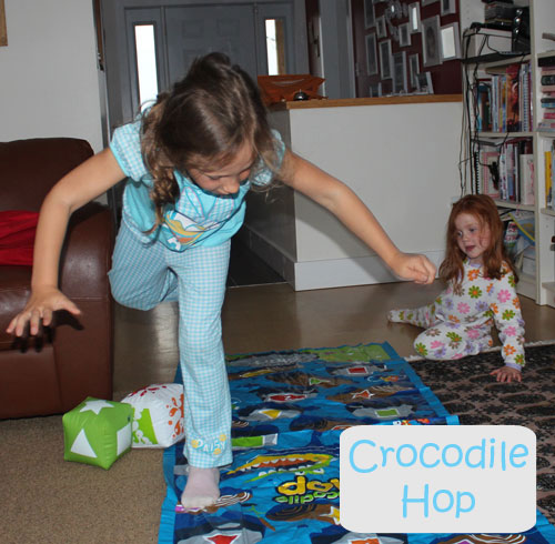 Crocodile Hop