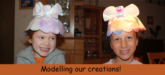 Modelling our Puppet Hats
