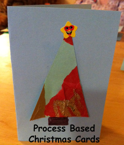 Triangles on cards