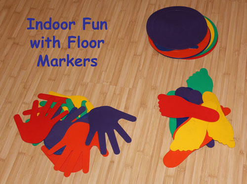 Indoor Fun with Floor Markers