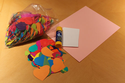 Heart Mosaic Supplies