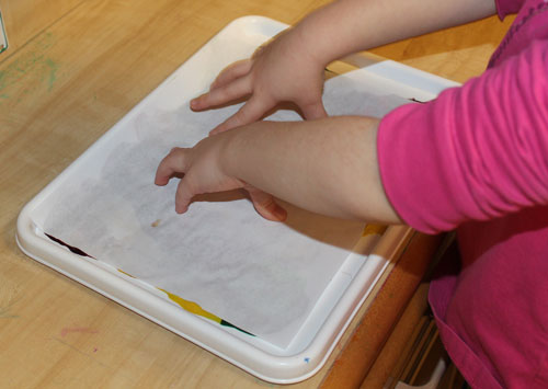 Paper patting