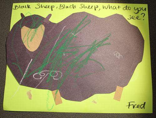 Black sheep,, black sheep
